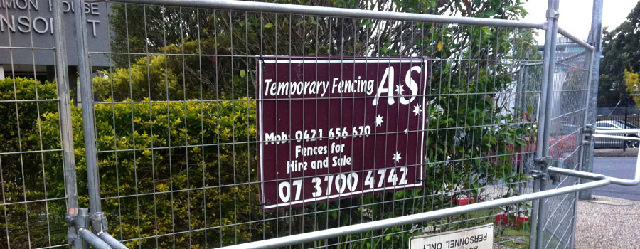 Temp Fence Hire for Construction Jobs